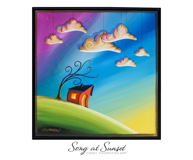 Song At Sunset - Original Painting