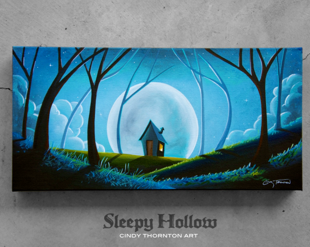 Sleepy Hollow - Original Painting