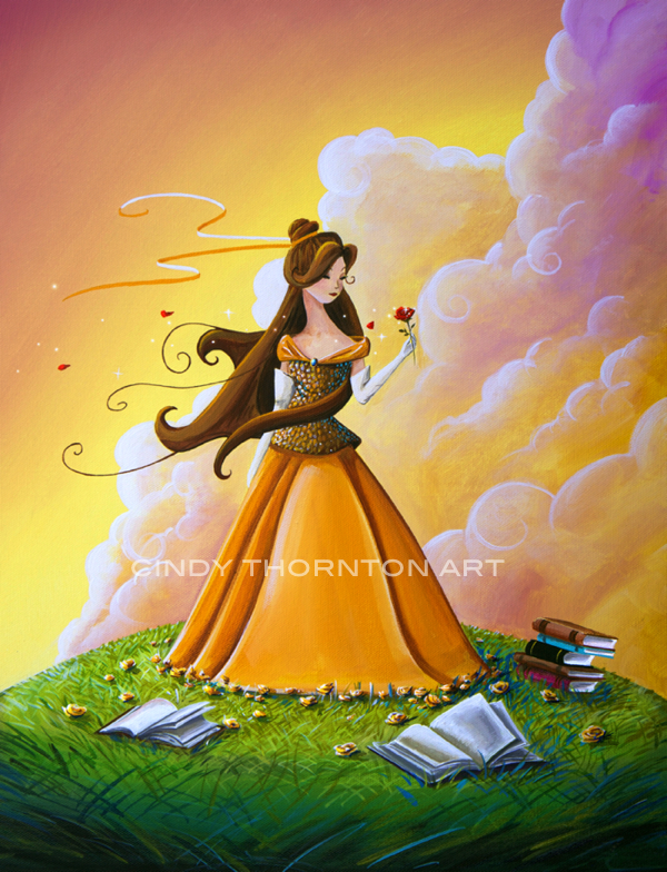 Belle - Original Art by Cindy Thornton