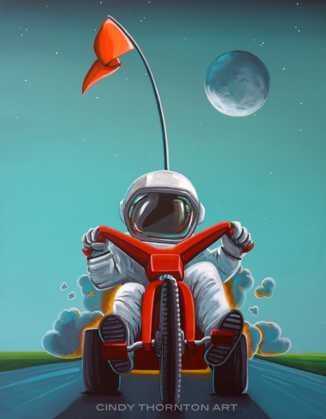 Little Astronaut - Space Racer